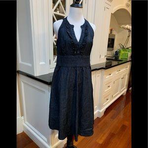 Calvin Klein Light Cotton Halter Style Dress Sz 12